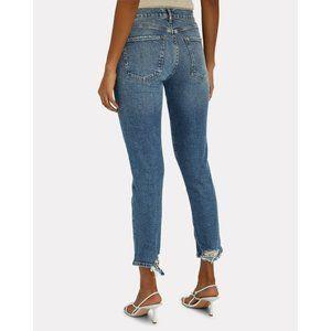 AGOLDE Toni Mid-Rise Slim Straight Leg Jeans M